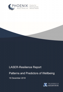 LASER Patterns and Predictors of Wellbeing Report 2019
